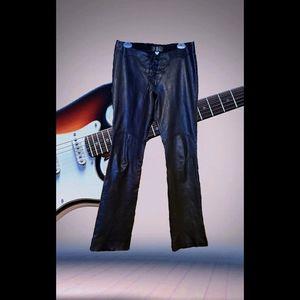 Rare NBL North Beach Leather Pants Unisex